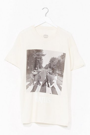 Cream Beatles Tee