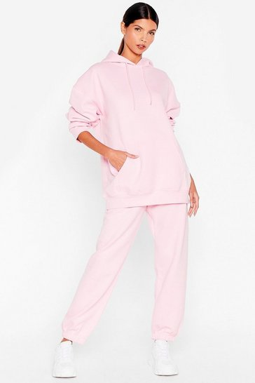 Pink We're in This Together Hoodie and Jogger Set