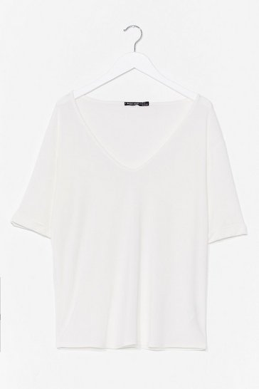 White V Rad Relaxed Tee
