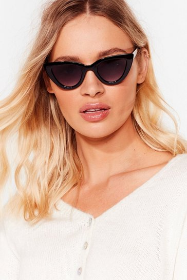 Black Eye Will Stand By You Cat-Eye Sunglasses