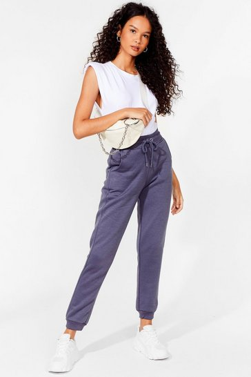 Slate Run Us Through It High-Waisted Joggers