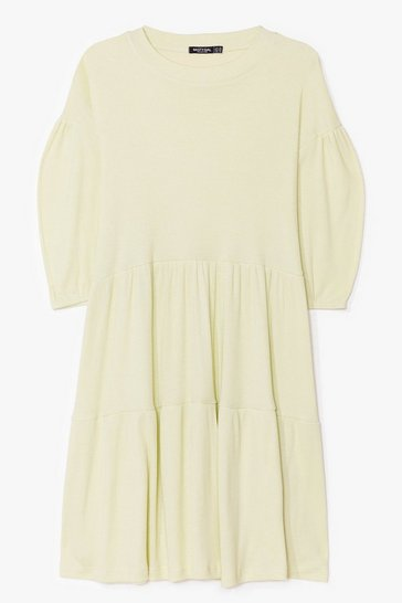 Sage A Smock to Handle Plus Mini Dress