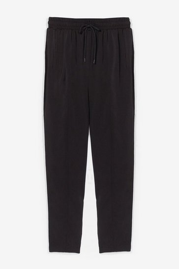 Black Maybe Tomorrow High-Waisted Jogger Pants