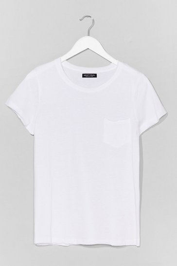 White On Top of the World Cotton Tee
