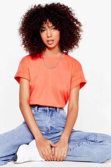 Coral The Basic Facts Oversized Tee