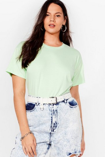 Mint The Basic Facts Oversized Tee