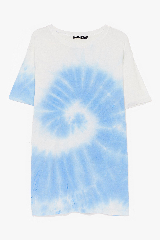 Plus Size Tie Dye T-Shirt 6