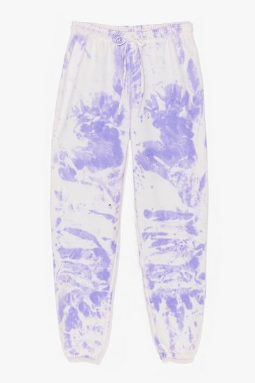 Lilac You're All Tie Want Plus Tie Dye Joggers