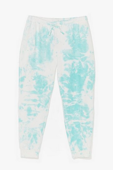 Mint You're All Tie Want Plus Tie Dye Joggers