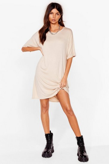 Stone Drop Topic Midi Tee Dress