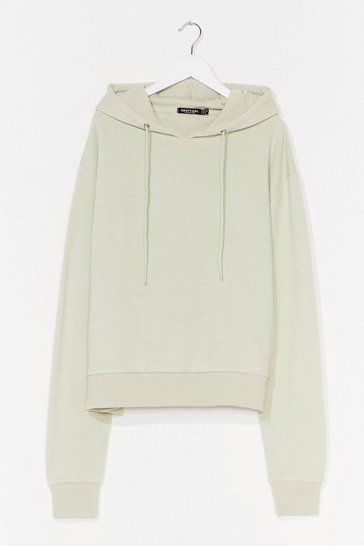 Sage Take Your Pick Oversized Lounge Hoodie