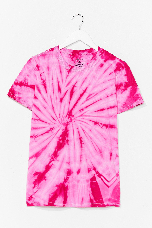 Tie Dye T-Shirt Good Vibes Tie Dye Tee