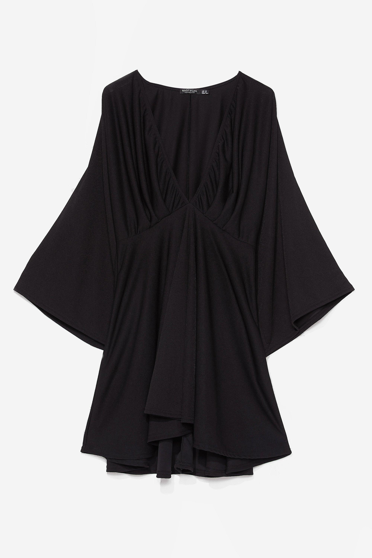 Plus Dobby Mesh Ruffle Midi Dress 3