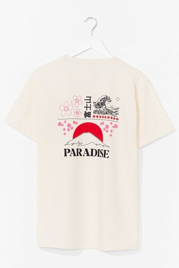 Natural Dreamed of Paradise Graphic Tee