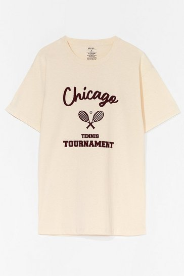 Sand Chicago Tennis Tornament Graphic Tee