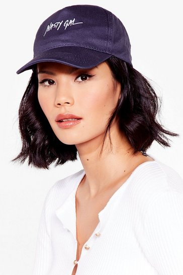 Navy On Brand Nasty Gal Cap