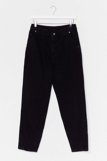 Black Barrel of Laughs High-Waisted Jeans