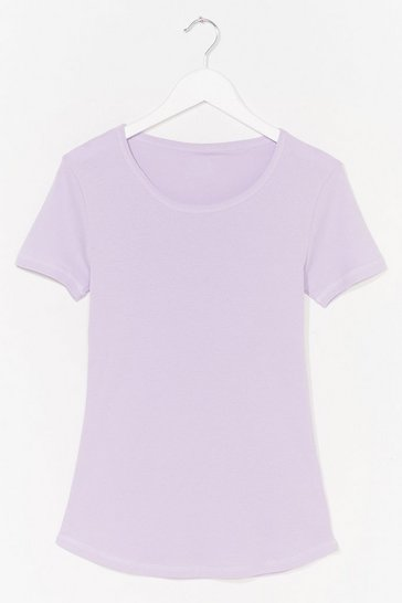 Lilac How We Tee It Relaxed Tee