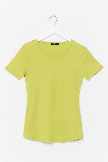 Lime How We Tee It Relaxed Tee