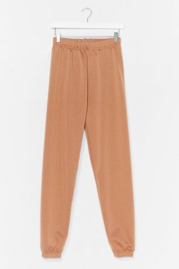 Camel Jog the Limelight Stretch Joggers