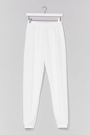 Ivory Jog the Limelight Stretch Joggers