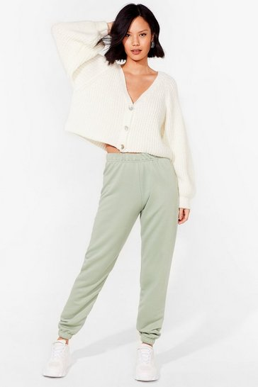 Sage Jog the Limelight Stretch Joggers
