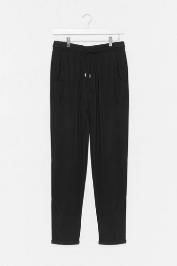Black Loosey Goosey Baby Jogger Pants