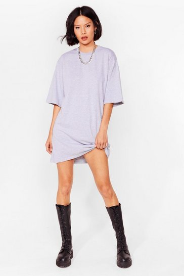 Ash Relaxed Mini T-Shirt Dress