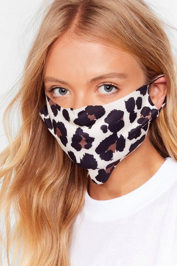 Natural Snack Hunter Leopard Fashion Face Mask