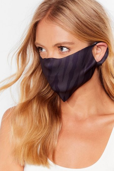 Black Face First Charity Fashion Face Mask