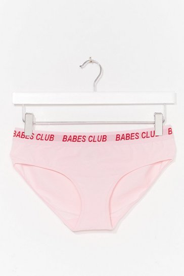 Pink Babes Club Knicker