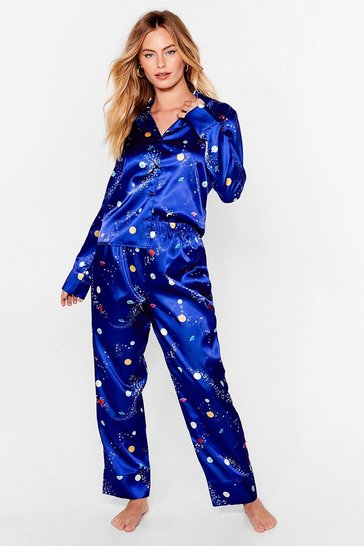 Navy Supersonic Rocket Ship PJ Pants Set