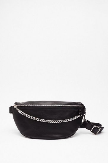 Black WANT Chain-ge Direction Fanny Pack