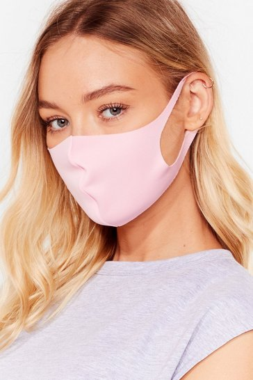 Pink To My Face Fashion Face Mask
