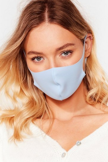 Blue Neoprene Non Surgical Face Mask