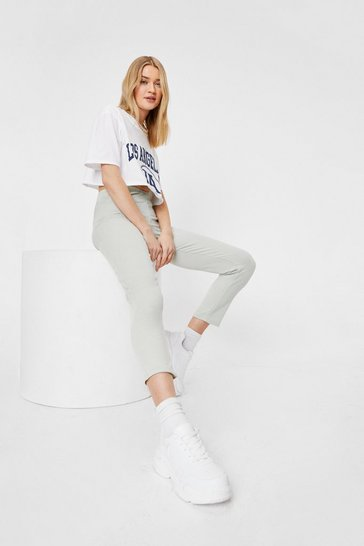 Sage Slim the Lights High-Waisted Jogger Pants