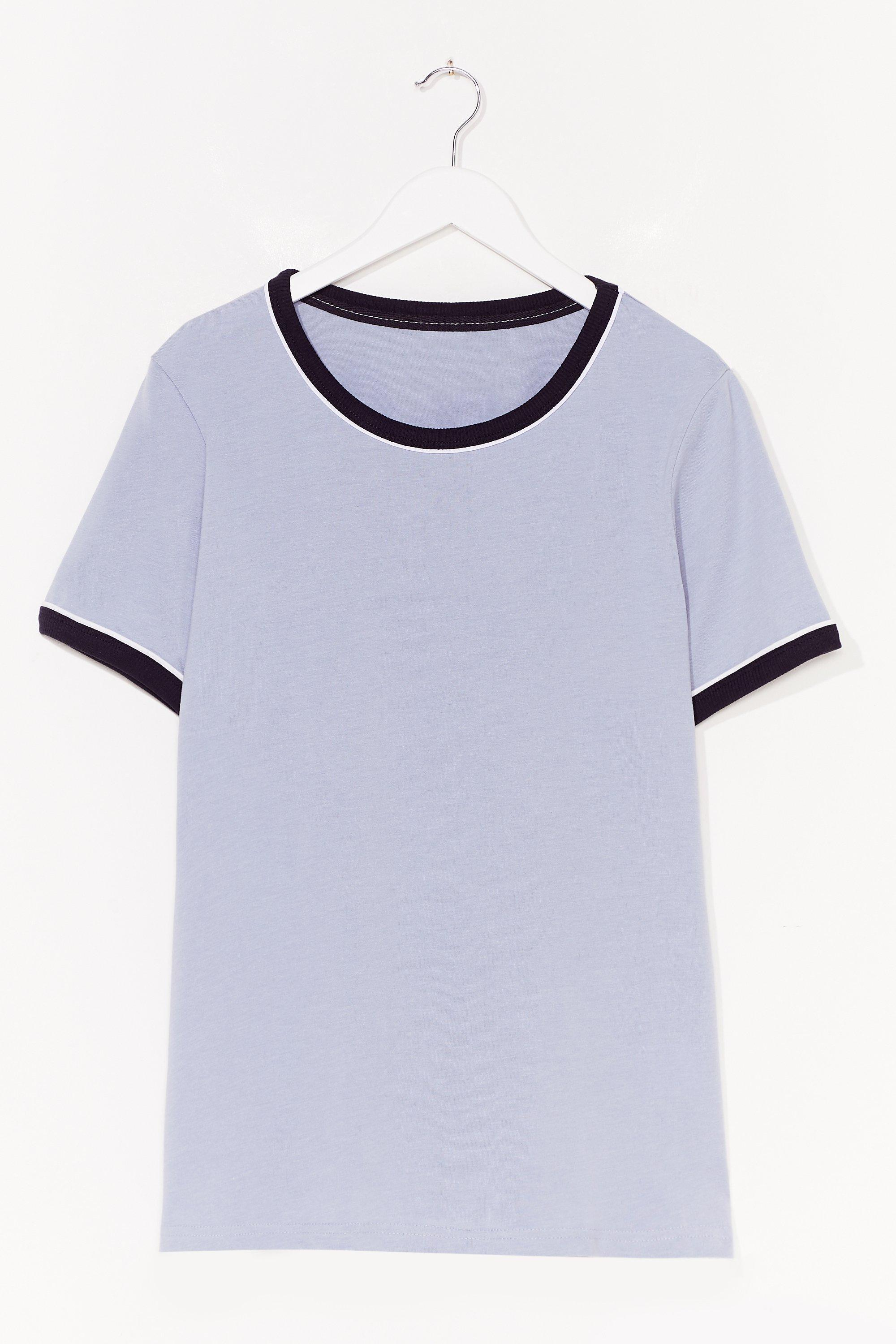 Ringer You Up Plus Contrast Tee 6