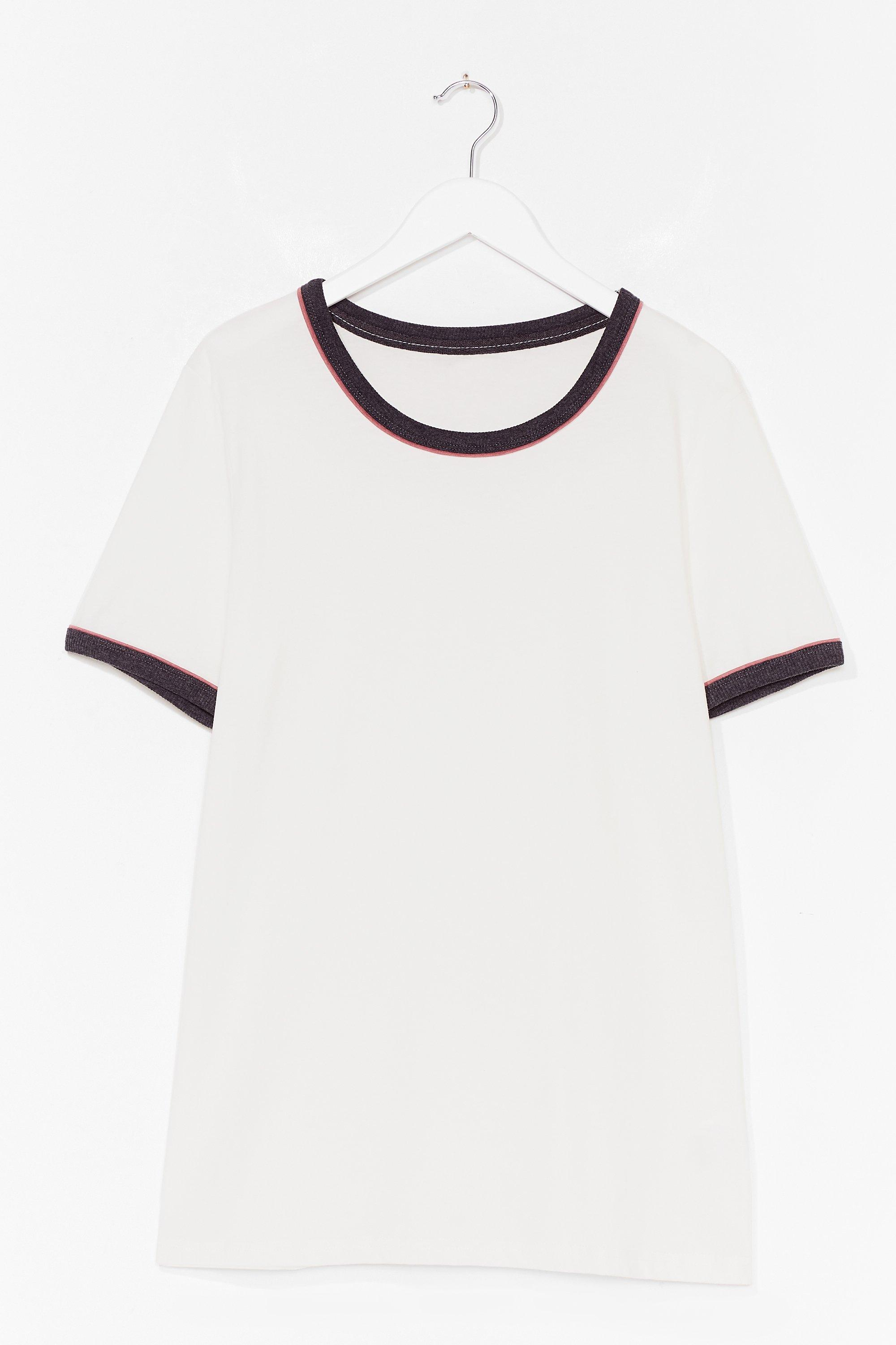 Ringer You Up Plus Contrast Tee 2
