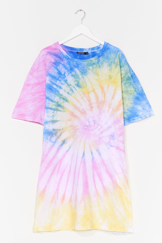 Groovy Kinda Love Plus Tie Dye Tee Dress 6