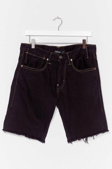 Black Nasty Gal Vintage Made the Cut Denim Shorts