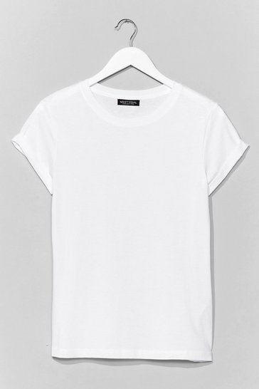 White On Top Cotton Tee