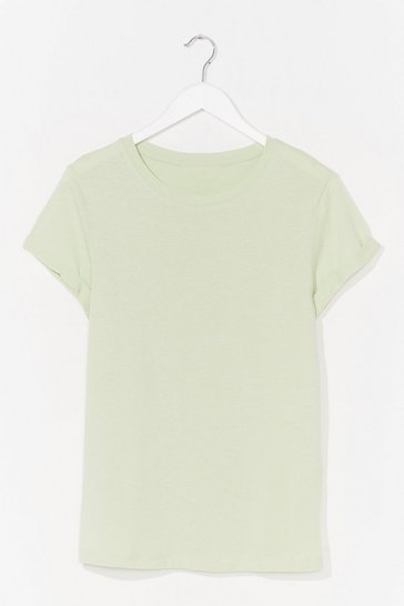 Pistachio On Top Cotton Tee