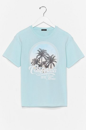Blue Californication Graphic Tee