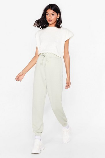Sage Hey There Hot Cuff High-Waisted Joggers