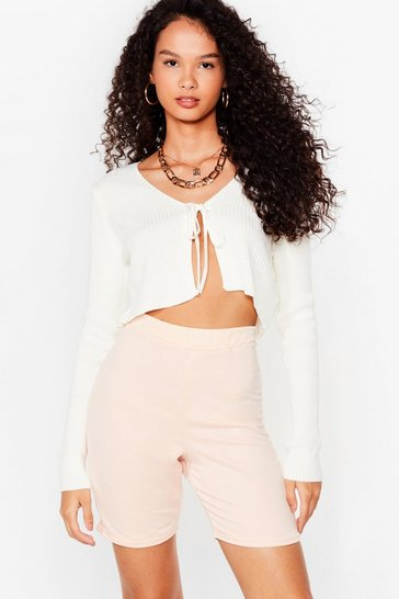 Dusky pink Welcome to Jersey Shorts Jogger Shorts