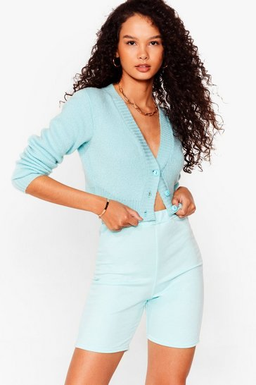 Mint Welcome to Jersey Longline Biker Shorts