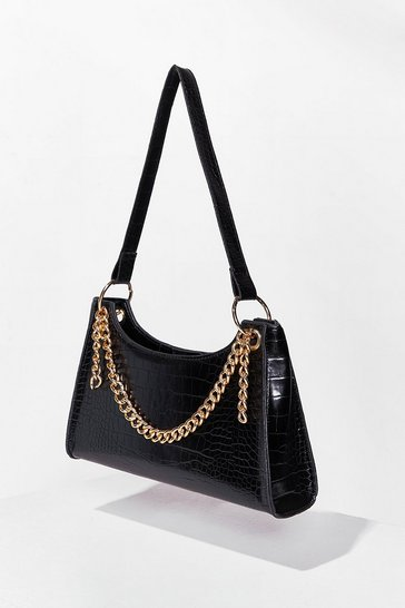 Black WANT Chain-ge for the Better Shoulder Bag