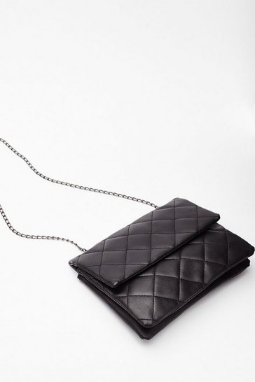 Black WANT Call It Quilts Multiway Crossbody Bag
