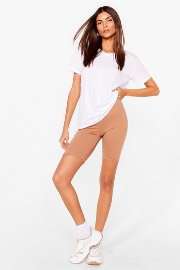 Sand Relaxed to the Max Tee and Biker Shorts Set