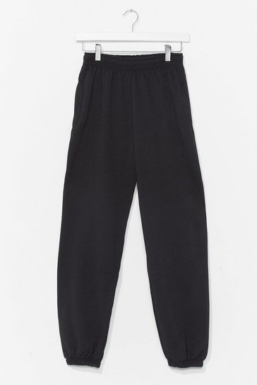 Black Jog the Limelight Stretch Joggers